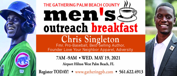 Meet Chris Singleton – Outreach Breakfast Preview (May 19th)