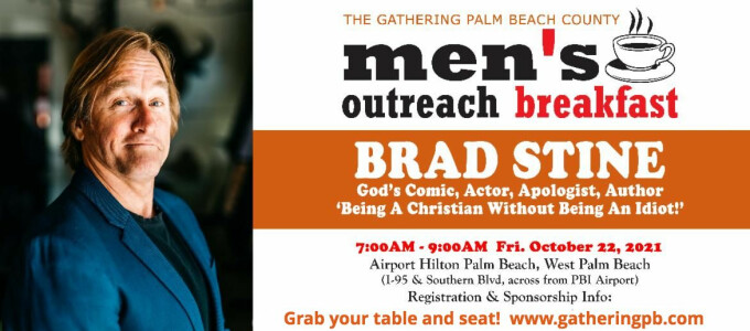 Meet Brad Stine – Outreach Breakfast Preview (Oct. 22)